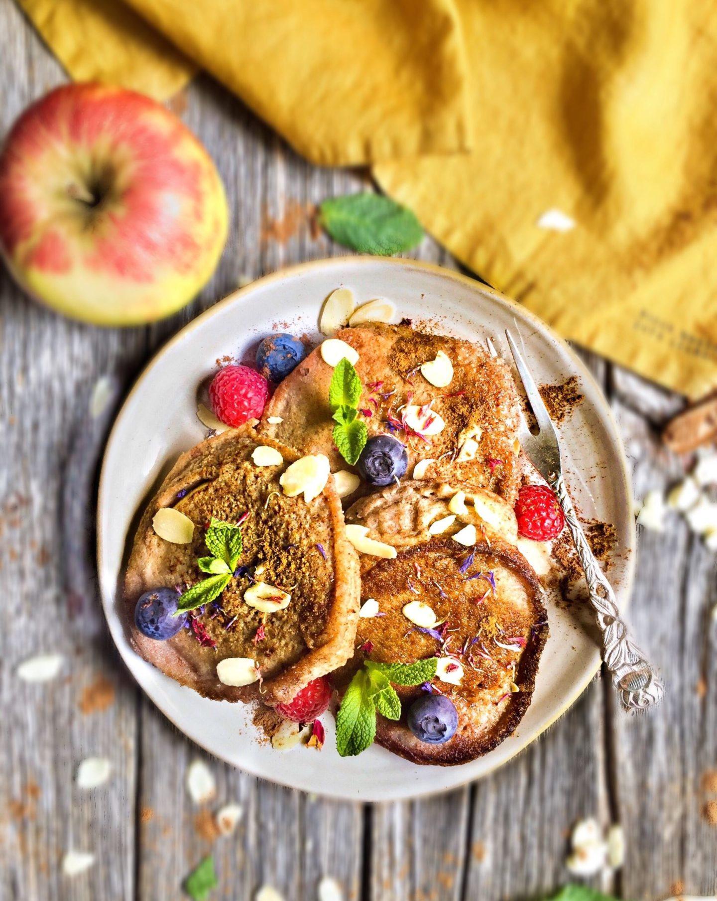 vegane & glutenfreie Apfelküchlein | #soulfoodsunday 3