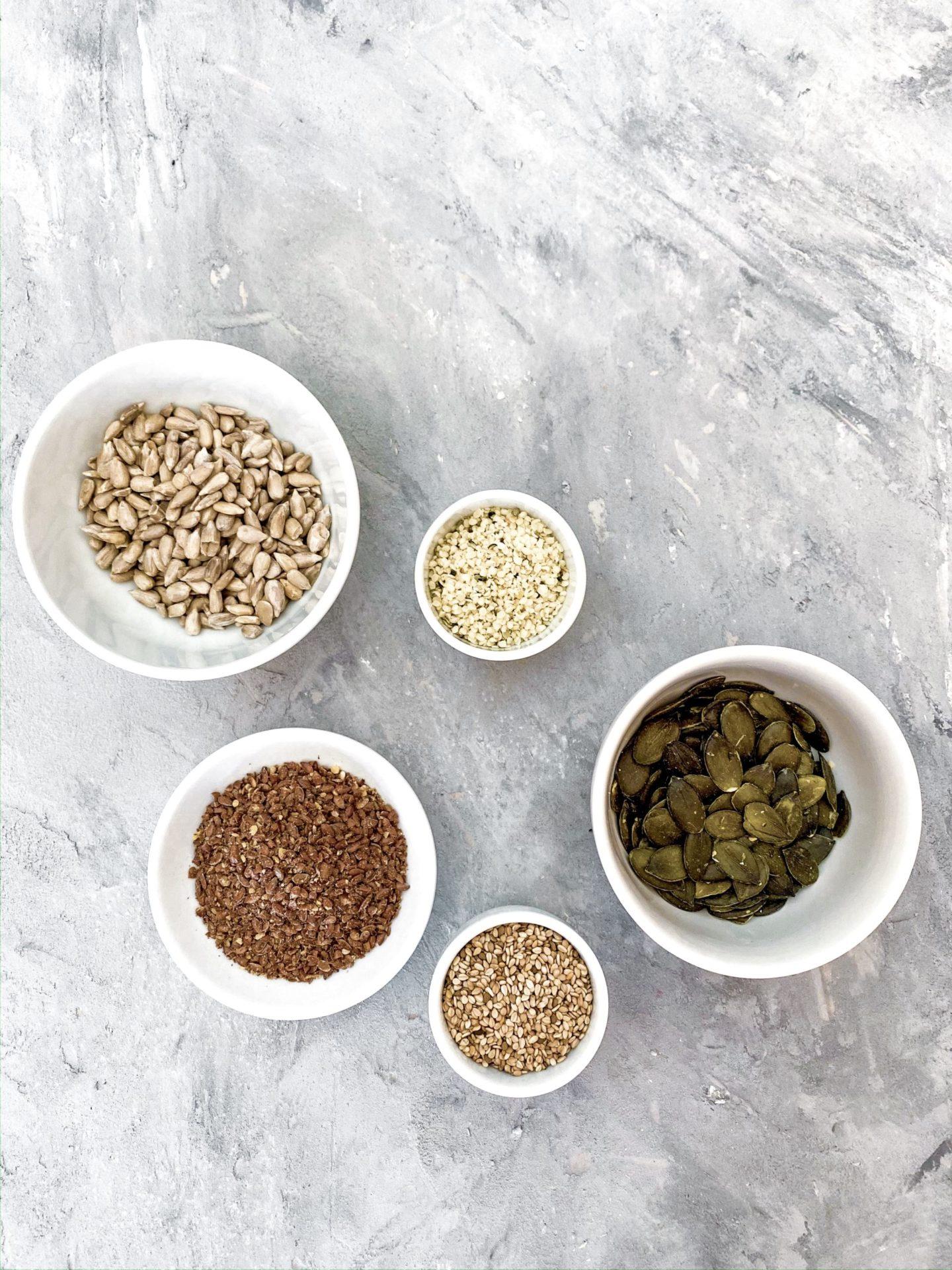 Seed Cycling – Mit Samen und Kernen zur Hormonbalance